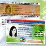 Costa Rica DIMEX Residency Card