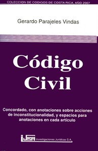 The Civil Code of Costa Rica