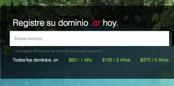 Costa Rica Domain Name Registry