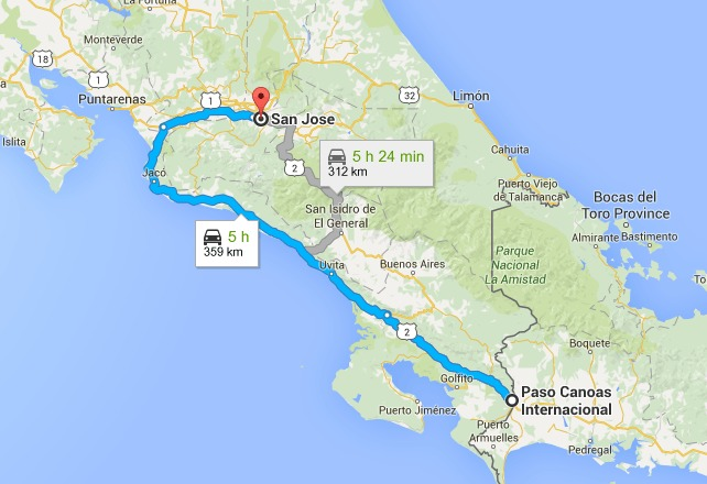 Driving From Costa Rica To Panama City Costaricalaw Com