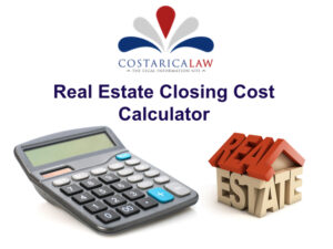 Real Estate Calculator Costaricalaw