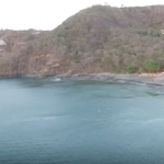 Drone over Playa Hermosa in Guancaste