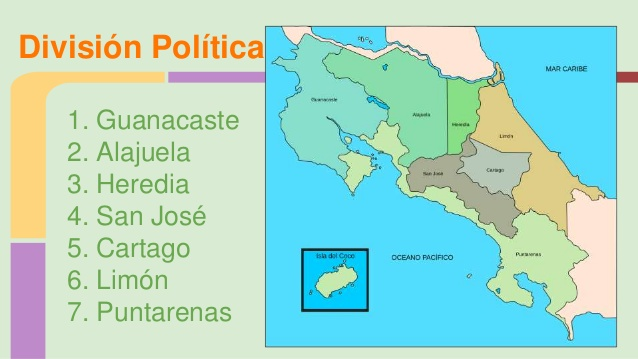 The Political Subdivision Of Costa Rica Costaricalaw Com