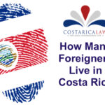 How many foreigners live in Costa Rica ?