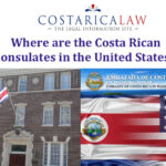 Where in the United States does Costa Rica have a Consulate ?