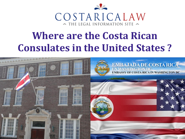 Where in the United States does Costa Rica have a Consulate