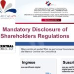 Mandatory Disclosure of Corporation Shareholders and Beneficial Owners Regulations are published.