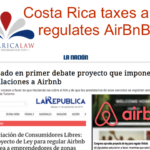 Costa Rica Taxes and Regulates AirBnB
