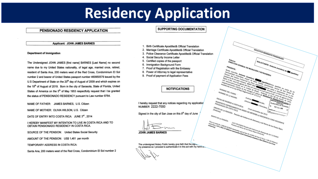 The Residency Application in Costa Rica