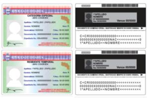 Costa Rica Residency Card Sample