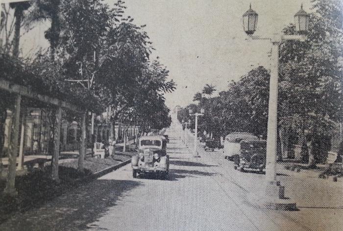 Costa Rica 1940 Street
